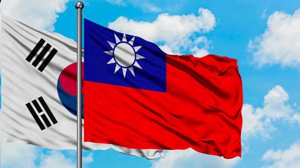 Taïwan et la Corée du Sud